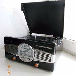 Проигрыватели виниловых дисков - Виниловый проигрыватель с радио., 0