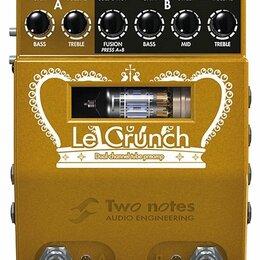 Музыкальные CD и аудиокассеты - Two Notes Le Crunch гитарный преамп, 0