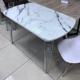Столы и столики - Стол белый мрамор, 0