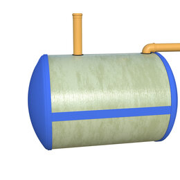 Септики - Ёмкость для канализации 5м3, 0