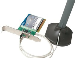 Сетевые карты и адаптеры - Wi-Fi 802.11 a/g PCI-адаптер D-Link DWL-AG530, 0