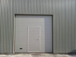 Заборы и ворота - Секционные ворота кв.метр, 0