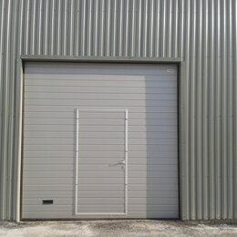 Заборы, ворота и элементы - Секционные ворота кв.метр, 0