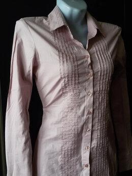 Блузки и кофточки - Рубашка женская бледно-розовая р. 42 новая Турция, 0