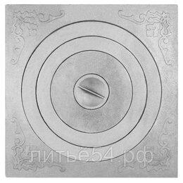 Печи для казанов - ПЛИТА ПОД КАЗАН чугунная П1-6, 600X600X26.5ММ, 0