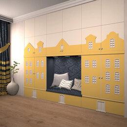Дизайн, изготовление и реставрация товаров - Мебель для детской: шкафы Амстердам, шкафчики, 0