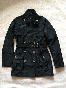 Куртки - Ветровка-куртка женская чёрная новая, 0
