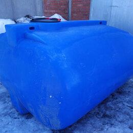 Баки - Резервуар из полиэтилена горизонтального исполнения на 5 кубов, 0