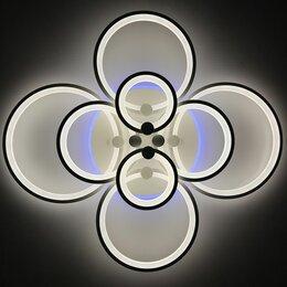 Люстры и потолочные светильники - Яркая люстра светодиодная LED с пультом, RGB…, 0