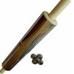 Скалки - Скалка металлическая 35-7,5см с подшипниками, 0