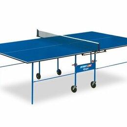 Столы - Теннисный стол для помещений Startline Olympic 6021 с сеткой, 0