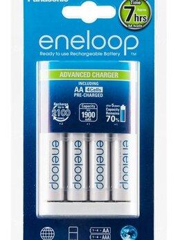 Аккумуляторы и зарядные устройства - Зарядка Panasonic Eneloop BQ-CC17 + 4…, 0