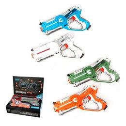 Игрушечное оружие и бластеры - Набор бластеров на батарейках в коробке BB8803C, 0