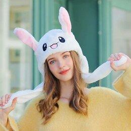 Головные уборы - Шапочка Кролик с двигающимися ушами, 0