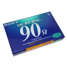 Музыкальные центры,  магнитофоны, магнитолы - Компакт-кассета SONY C-90 тип I, не вскрытая, 0