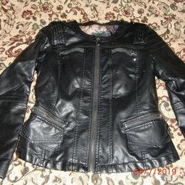 Костюмы - куртка и юбка р.S кожа иск, 0