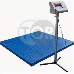 Напольные весы - Весы электронные платформенные TOR PS-1000 1000 кг, 0