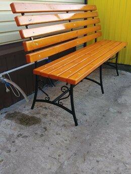 Скамейки - Изготовление садовой мебели , 0