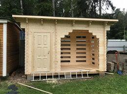 Готовые строения - Хозблок с дворником из мини бруса, 0