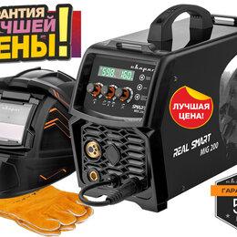 Сварочные аппараты - Сварочный полуавтомат Real Smart MIG 200 Black New, 0