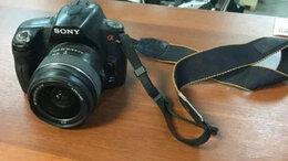Фотоаппараты - Зеркальная фотокамера Sony A390, 0