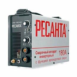 Сварочные аппараты - Сварочный аргонодуговой аппарат Ресанта саи-180ад, 0