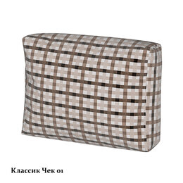 Диваны и кушетки - Классика чек 1 чехол подушки, 0