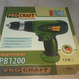 Шуруповерты - Шуруповерт сетевой Procraft PB1200, 0