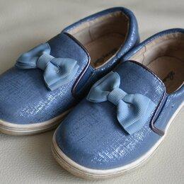 Балетки, туфли - Туфли текстильные, размер 25, 0