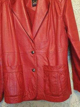 Пиджаки - Кожаный пиджак женский, 0