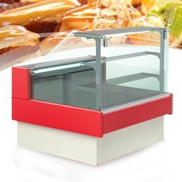 Холодильные витрины - Холодильная кондитерская витрина Lida KUB S 1,5…, 0