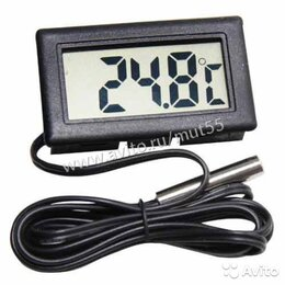 Термометры - Термометр электронный с выносным датчиком, 0