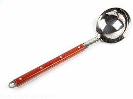 Аксессуары для готовки - Половник из нерж. стали 40 см, с деревянной ручкой, 0