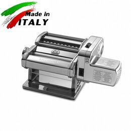 Пельменницы, машинки для пасты и равиоли - Marcato Atlas Motor 180 mm тестораскатка -…, 0