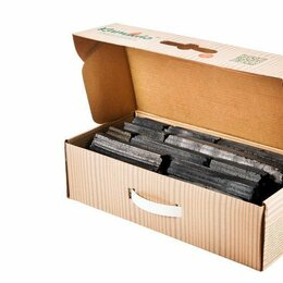 Уголь - Уголь древесный Kamado/Камадо в коробке 4,7 кг (Россия), 0
