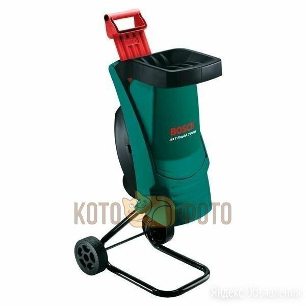 Измельчитель Bosch AXT RAPID 2000 (0600853500) по цене 23720₽ - Садовые измельчители, фото 0