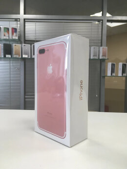 Мобильные телефоны - iPhone 7 Plus 128gb rose gold (A1784) Ростест, 0