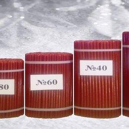 Декоративные свечи - Свечи восковые медовые церковные красные, 0