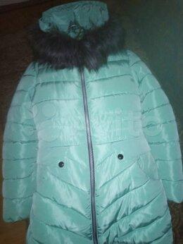 Куртки и пуховики - Продам пальто зимнее на девочку рост 152, 0