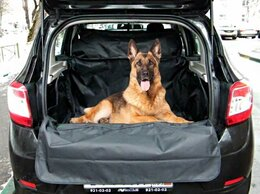 Транспортировка, переноски - Автогамак в багажник с защитой подголовников…, 0
