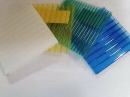 Поликарбонат - Сотовый поликарбонат, цветной 6мм, 0
