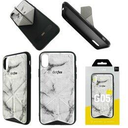 Чехлы - Чехол Apple iPhone X/Xs DOTFES G05 Origami…, 0