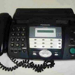 Системные телефоны - Факс Panasonic KX-FT902RU, 0