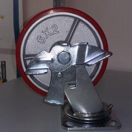 Инструментальные тележки - Колесо 150 мм поворотное с тормозом баки , 0