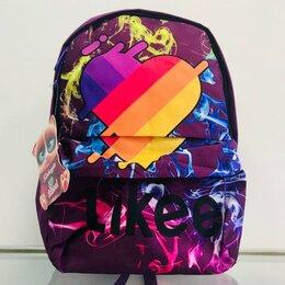 Рюкзаки, ранцы, сумки - Рюкзак с принтом Likee (твердая спинка), 0