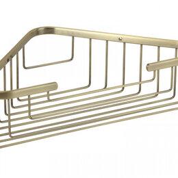Полки, шкафчики, этажерки - Полка 25 см Basket Veragio VR.GFT-9039.BR, 0