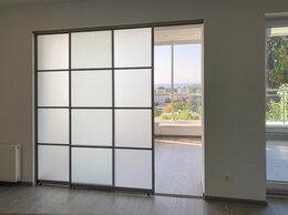 Межкомнатные двери - Раздвижная межкомнатная дверь перегородка, 0