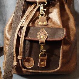 Рюкзаки - Рюкзак кожаный, 0