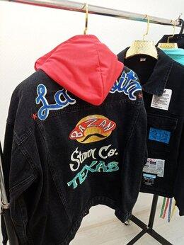 Куртки - Джинсовка женская с капюшоном Арт. DB.1003.W, 0
