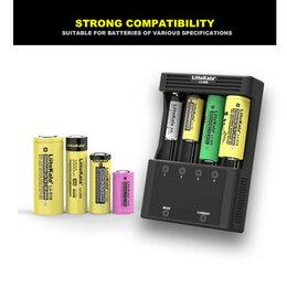 Зарядные устройства для стандартных аккумуляторов - Зарядка Liitokala Lii-600 с дисплеем, 3 Ампера…, 0